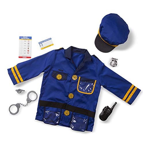 Melissa & Doug Police Officer Role Play Costume Set - 4835