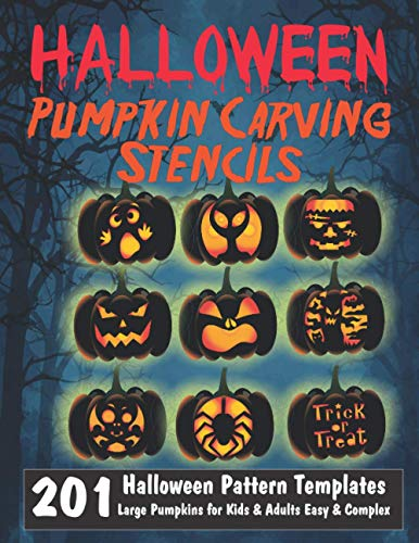 Halloween Pumpkin Carving Stencils | 201 Halloween Pattern T