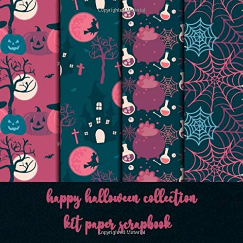 happy halloween collection kit paper scrapbook: patterned sc